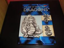 The Art Of Drawing Dragons Art Kit by Michael Dobrzycki NEW / MINT Condition