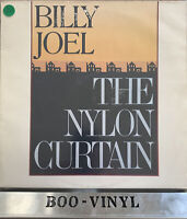 BILLY JOEL - THE NYLON CURTAIN Vinyl LP + Lyric Inner CBS 85959 EX / VG+