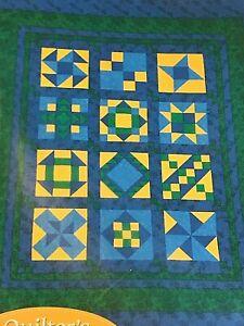 12 Blocks of Quilter's Sampler Club by Hancock Fabrics QUILT KIT & Fabrics