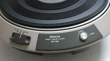 Denon Direct Drive DP-750 Turntable Unit : Rare/Collectable/Excellent!!!