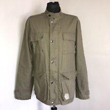 6604255eb030 Converse Coat Size Large Khaki Converse Jacket Military Style
