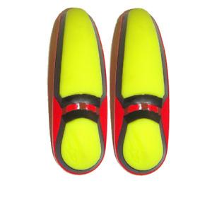 Alpinestars Boot Spares - Toe Sliders - S-MX Plus (2011-2012) Yellow/Red