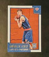 2015-16 NBA Hoops Kristaps Porzingis Rookie RC #261 Knicks Dallas Mavericks