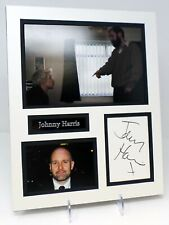 Johnny HARRIS Signed Mounted Photo Display AFTAL COA Mick in This is England