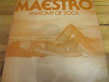 """KDS-2014 TRINIDAD & TOBAGO 12"""" 33RPM MAESTRO """"ANATOMY OF SOCA"""" EX"""