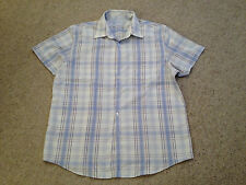 Thomas Nash Soft Touch  Casual Shirt Adult Large Short Sleeved  (M)