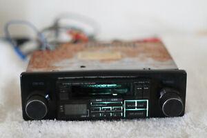 Vintage Kenwood In Dash Car Truck Cassette Player AM/FM Radio Receiver KRC-2000A