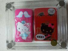 ZIPPO Lighter HELLO KITTY Angel & Devil Pair Set Japan Limited RARE  BRAND NEW