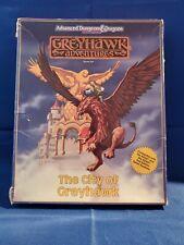 AD&D The City of Greyhawk Box Set <Complete> - Greyhawk Adventures