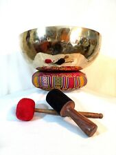 More details for 17.25 inch hand hammered singing bowl from nepal - no.1