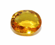 13,20 CTS EXCELENTE CITRINO NATURAL  - Natural HUGE Yellow Citrine Brazil