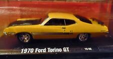 M2 70 1970 FORD TORINO GT AUTO-DRIVERS RACING DETAILED COLLECTIBLE CAR YELLOW