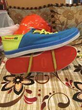 Havaianas Low Top Canvas Lace Up Color Block Unisex Sneakers Size 10W / 8.5M