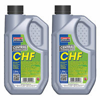 2 x Granville Central Hydraulic Fluid CHF 11S Power Steering Suspension Oil 1L