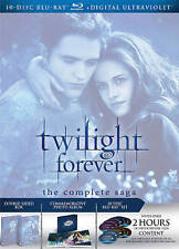 Twilight Forever: The Complete Saga [Blu-ray + Digital] by Kristen Stewart, Rob