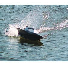 XMAS SALE Radio Remote Control Black Stealth EP Racing Model Speed Boat 7000 Toy
