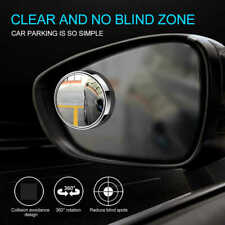 [Lot de 2] Miroir angle mort pour rétroviseur extérieur voiture 360° Grand angle