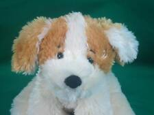 BURTON PUPPY DOG BURTON CREAM 2007 BROWN SPOTS SOFT FUZZY PLUSH STUFFED ANIMAL