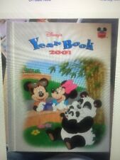 DISNEY'S YEAR BOOK * 2001 * HARDCOVER CHILD'S BOOK Mickey Mouse EUC