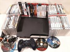 Sony Playstation 3 PS3 Model CHEC-2501A Plus 63 Games and 1 Controller HUGE LOT!