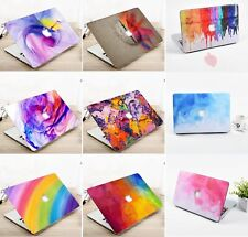 """For Macbook Air 11"""" 13"""" Pro 15"""" 16"""" Case Plastic Hard Shell Cover Keyboard Skin"""