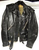 Vintage 40's/50's Grais perfecto jacket horsehide sz.42