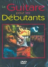EDWARD S LA GUITARE POUR LES DEBUTANTS GUITAR MUSIC MUSIQUE DVD FRENCH