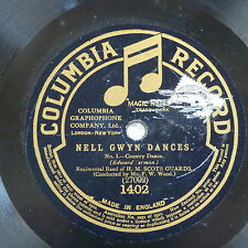 78rpm H M SCOTS GUARDS nell gwyn pastoral dance / country dance EDWARD GERMAN