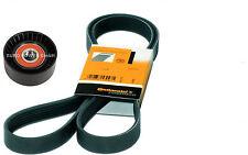 V-Ribbed Belt + Tensioner Roller Ford Escort VI VII Classic Fiesta III 1.8 D 1.8