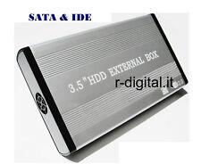 """CASE CAJA EXTERNA LINQ USB HD DISCO DURO 3.5"""" SATA & IDE FUENTE DE ALIMENTACIÓN"""