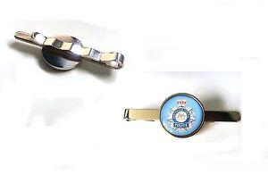 AUSTRALIAN FEDERAL POLICE TIE SLIDE TIE GRIP PIN BAR GIFT