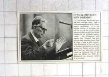 1965 Otto Klemperer, 80th Birthday