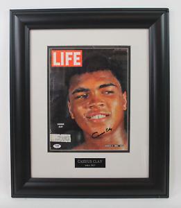 Muhammad Ali framed signed autographed Life magazine! PSA LOA!