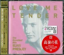 ELVIS PRESLEY-LOVE ME TENDER - GREATEST HITS-JAPAN CD E25