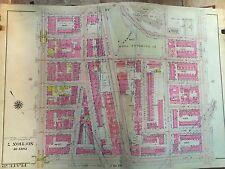 1914 BROMLEY HARLEM CCNY MANHATTAN ORIGINAL MAP ATLAS 8TH-AMSTERDAM 139TH - 145
