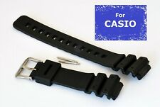 Fits CASIO G SHOCK DW6900/6600 GW6900 WATCH. 16MM-25MM/26MM Black Rubber Strap B