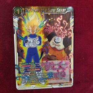 Dragon Ball Supreme Rivalry THE POWER OF A SUPER SAIYAN SR BT13-120 MT ~DBZ JU07
