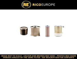 NEUSON LIFTON 1001 Filter Service Kit Air Oil Fuel w/Yanmar 3TNE74-ENSR-3 Eng.