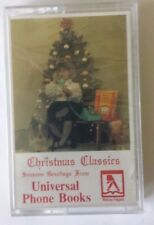 VTG Universal Phone Books Advertisement Christmas Classics Cassette Tape