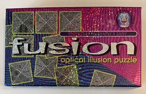 Professor McBrainy's: Fusion: Optical Illusion Puzzle - Lagoon Games - Magic Eye