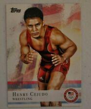 2012 Topps Olympic Henry Cejudo