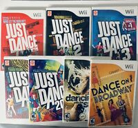 Lot Of 7 Dance Wii Games All Complete In Box & Tested