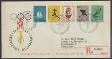 NED 33694) Niederlande 1956 Olympia Mi.-Nr. 678-682 FDC