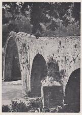D4153 Il ponte del Diavolo presso Bagni di Lucca - Stampa d'epoca - 1939 print