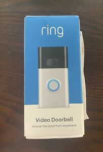Ring Video Doorbell 2nd Generation (2020 Release) - BRAND NEW Factory Sealed!