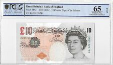More details for 2012 bank of england chris salmon darwin £10 ten pound banknote gem unc 65 opq