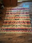 Jacquard Coverlet 19th Century 4 colors with Patriotic Eagles in 4 corners