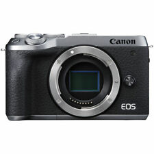 Canon M6 Mark II Body Only (Silver) & FREE 64GB SDXC *NEW*