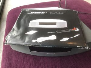 Bose Wave Radio II In Graphite With Original User Manual AWR183