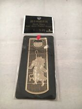 Golden Bookmark 24K Gold Plated Dragon National Palace Museum